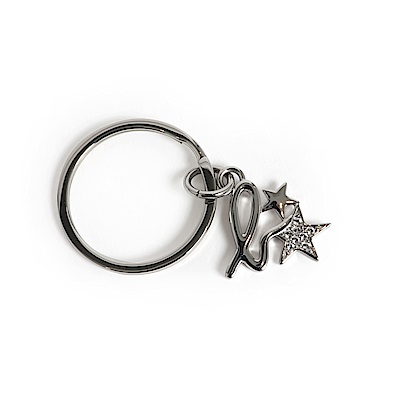 agnes b. b.星星鑰匙圈