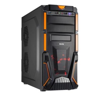 微星H310平台[烈空勇將]i3-9100F/8G/1T/GTX1650/240G_SSD