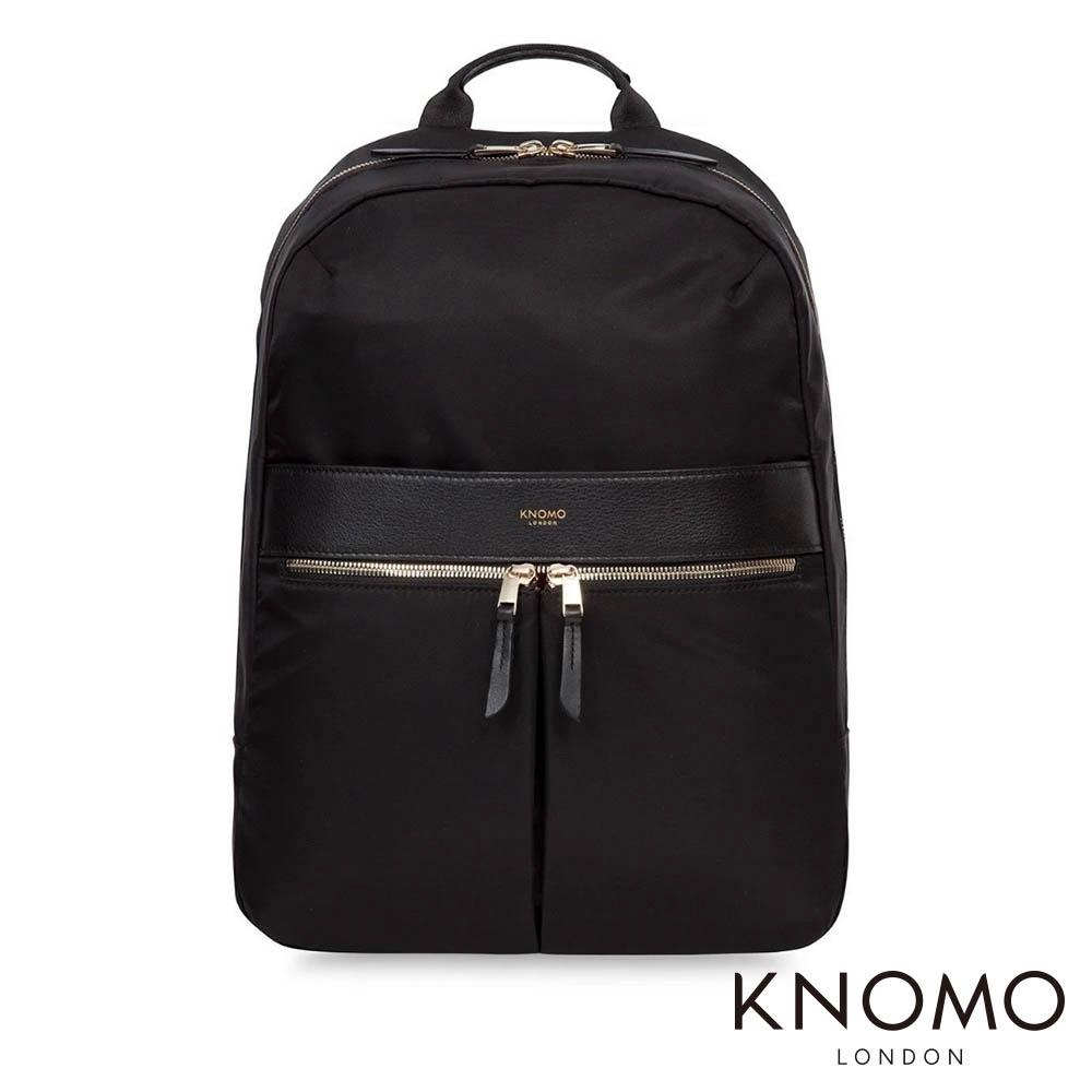 KNOMO 英國 Beauchamp 電腦後背包 - 黑色 14 吋