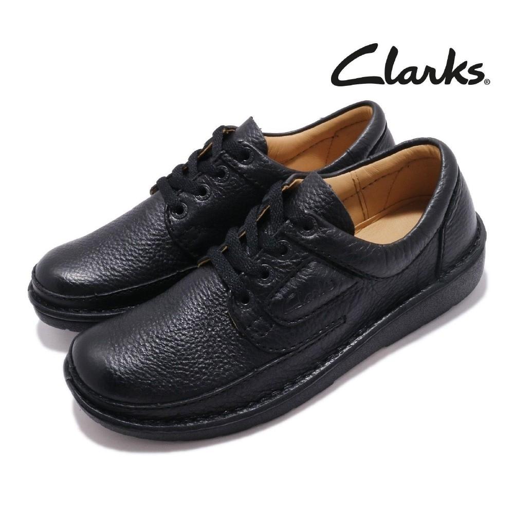 Clarks 休閒鞋 Nature II 外出 荔枝紋 男鞋