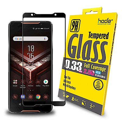 【hoda】ASUS ROG ZS600KL 2.5D隱形滿版高透光9H鋼化玻璃保護貼