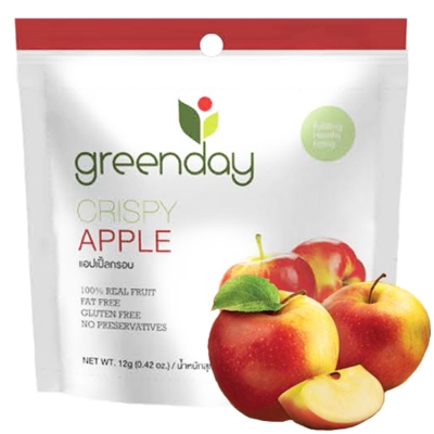 Greenday 蘋果凍乾(12g)