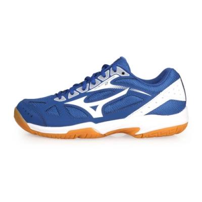 MIZUNO 男女 排球鞋 CYCLONE SPEED 2 藍白