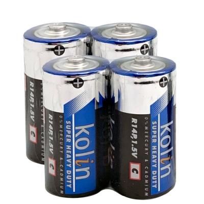 kolin 歌林 碳鋅電池 <b>2</b>號 4入(促銷)