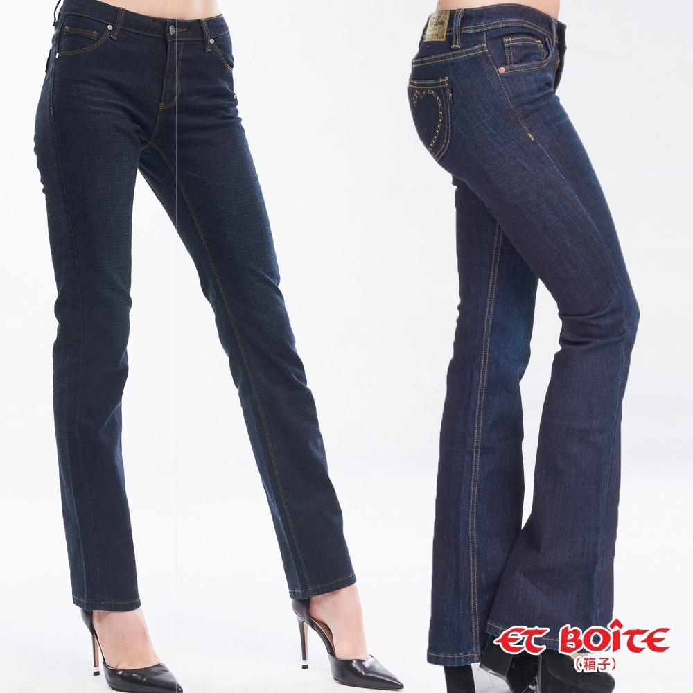 [時時樂限定]箱子 BLUE WAY 女裝保暖內絨靴型褲_2款選
