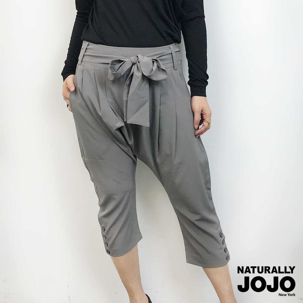 【NATURALLY JOJO】低襠西裝褲(灰)