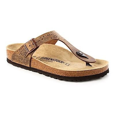 勃肯BIRKENSTOCK 1009760GIZEH吉薩 夾腳拖鞋(煙燻咖啡)