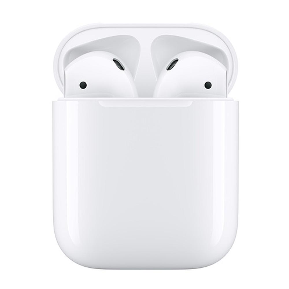 [滿2件出貨] Apple 第2代 AirPods 藍芽耳機 (搭配有線充電盒)