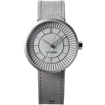 分格水泥錶-水泥灰渾沌款(Concrete Sector Watch - Concrete Grey Edition/40mm-CW06001)