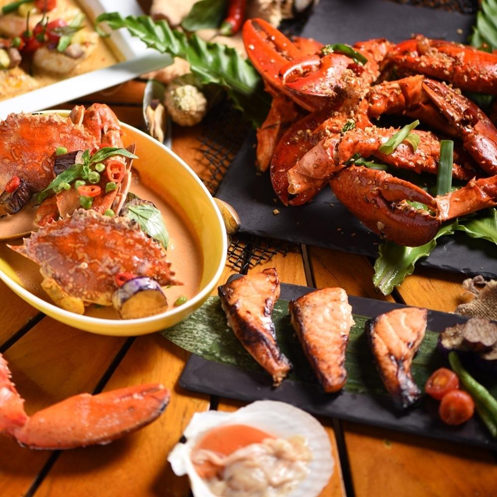 台北W飯店 雙人the kitchen table 週五至週日自助晚餐吃到飽