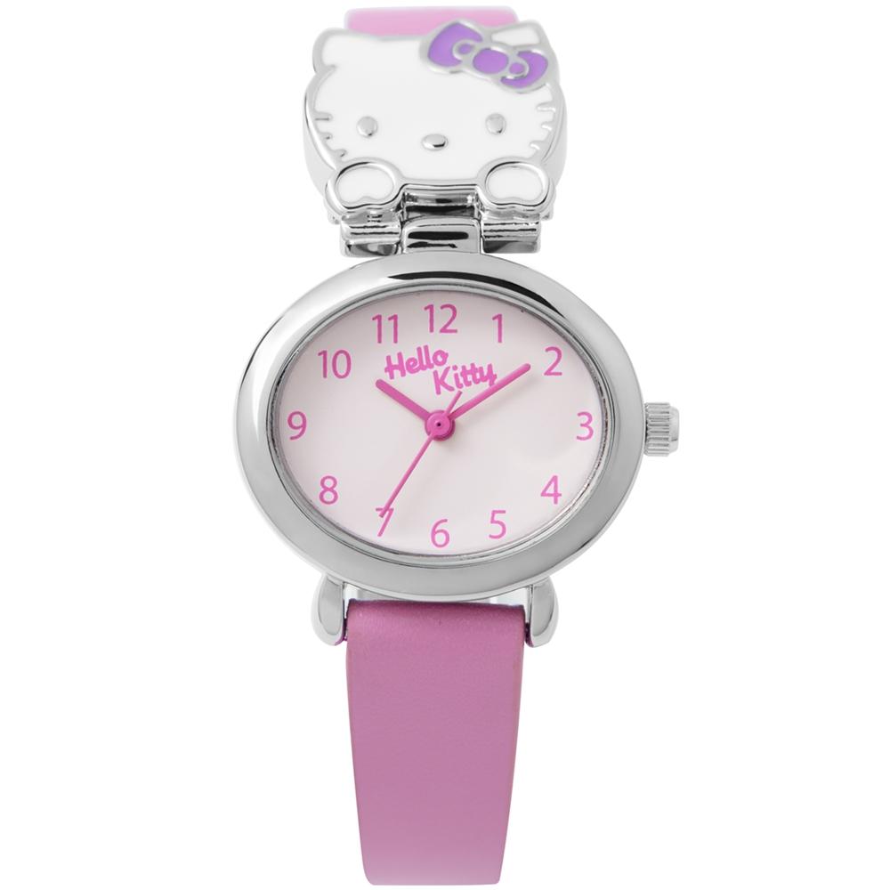 HELLO KITTY 可愛立體貓頭手錶 粉紅/27mm @ Y!購物