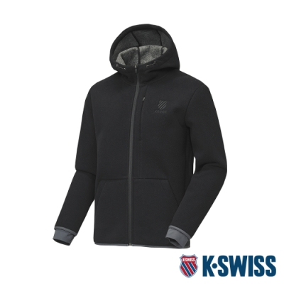 K-SWISS HS Jacket韓版運動外套-男-黑
