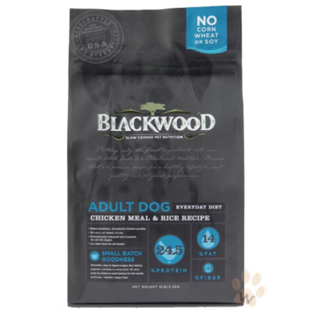 柏萊富blackwood 特調成犬活力配方(雞肉+糙米)30磅X2包組