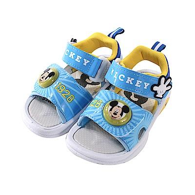 迪士尼米奇男童閃燈涼鞋 sk0757 魔法Baby