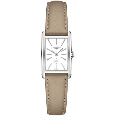 LONGINES 浪琴 DolceVita多情系列小秒針女錶-20.8x32mm (L52554117)
