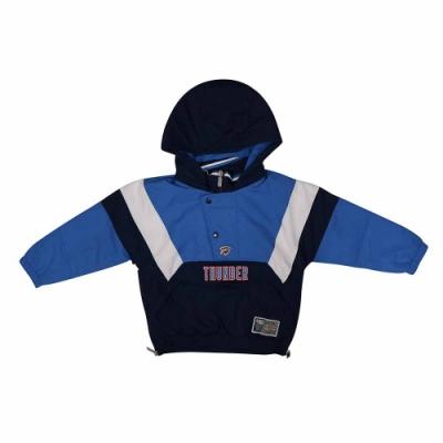 NBA Style WOVEN JUMPER 兒童 套頭風衣 連帽上衣 雷霆隊