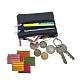 玩皮工坊-頭層牛皮多隔層便攜男女通用拉鍊皮夾零錢包卡片包LH397 product thumbnail 1