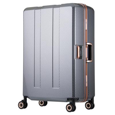 日本 LEGEND WALKER W6703N-64-26吋 寶貝輪秤重箱 碳纖星空藍