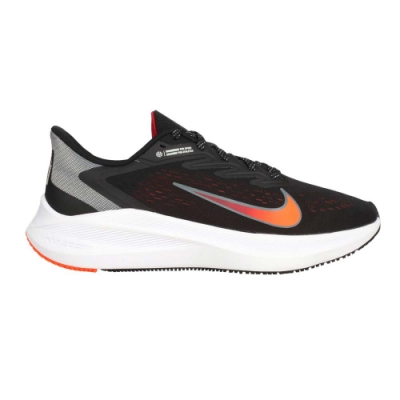 NIKE ZOOM WINFLO 7 男慢跑鞋-路跑 運動 輕量 CJ0291011 黑螢光橘