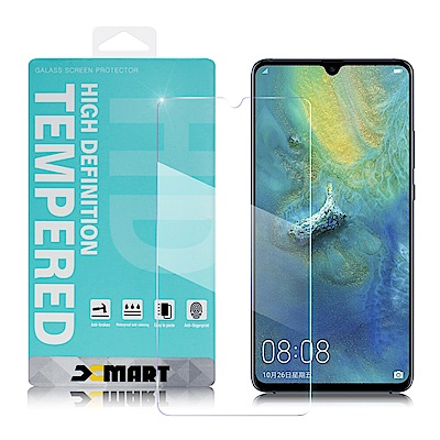 Xmart for HUAWEI Mate20 X 薄型 9H 玻璃保護貼
