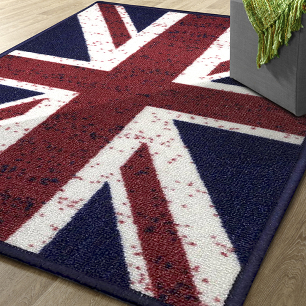 范登伯格 - 奧斯頓 進口地毯 - 英國國旗 (100 x 140cm)
