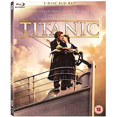 鐵達尼號  Titanic 藍光 BD