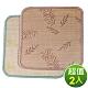 范登伯格 - 艾蒙 天然色織竹坐墊 兩入組 (兩色可選) (50x50cm) product thumbnail 1
