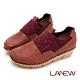 LA NEW 優纖淨 抑菌消臭 彈性布拼接 氣墊休閒鞋 懶人鞋(女225025706) product thumbnail 1