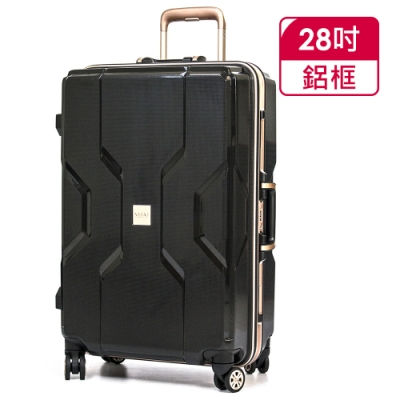 MOMJAPAN 28吋新型PP材質鋁框行李箱RU-M3002-28