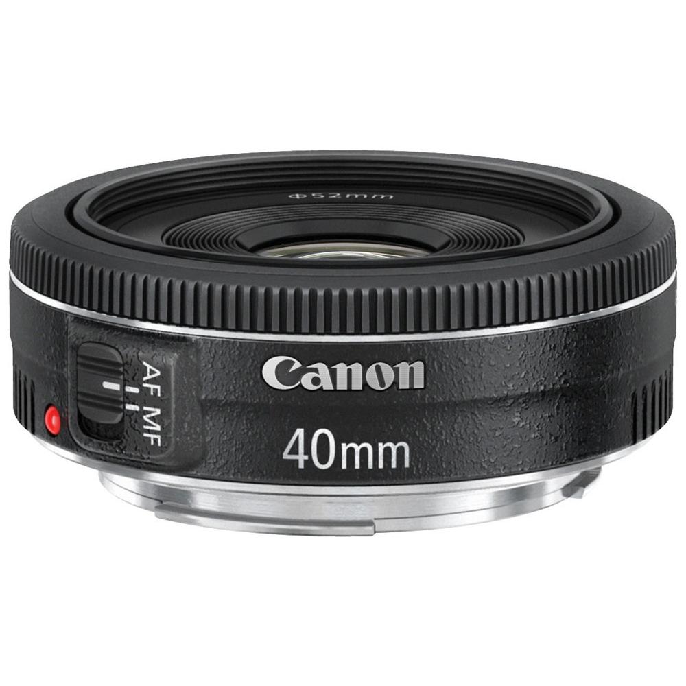 Canon EF 40mm F2.8 STM 超輕薄標準餅乾鏡(公司貨)