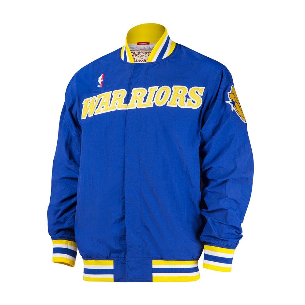 M&N NBA復古熱身外套 勇士隊