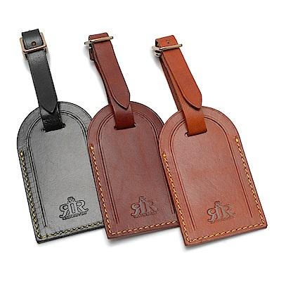 2R 頭層植鞣牛皮Craftsman手工行李吊牌
