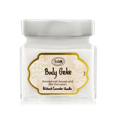 *SABON PLV經典清爽保濕凝凍200ml Patchouli Lavender Vanilla-國際航空版