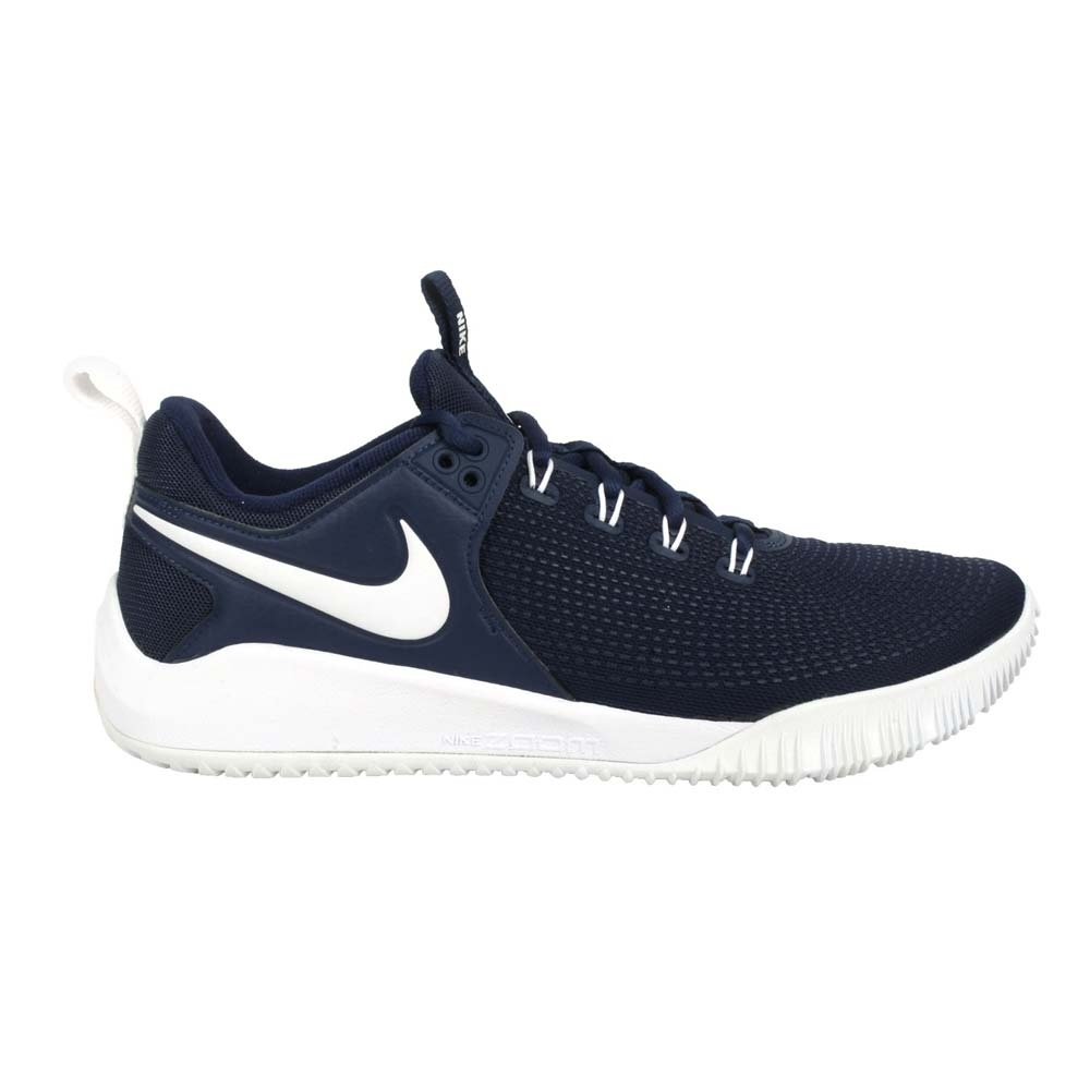 NIKE AIR ZOOM HYPERACE 2 男排球鞋-訓練 運動 AR5281400 丈青白