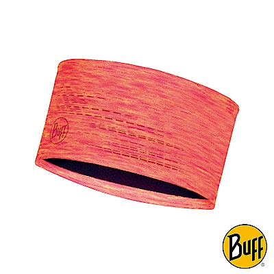 《BUFF》Dryflx夜閃運動頭帶-熱情亮粉 BF118098-506