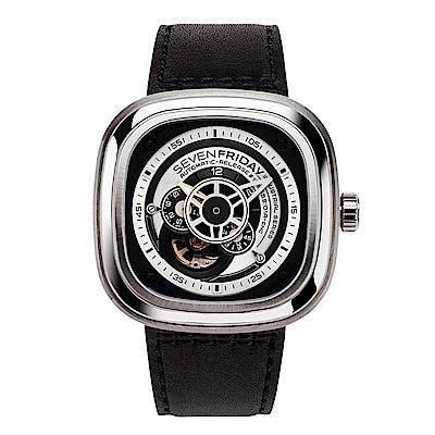 SEVENFRIDAY P1B 潮流新興瑞士機械腕錶