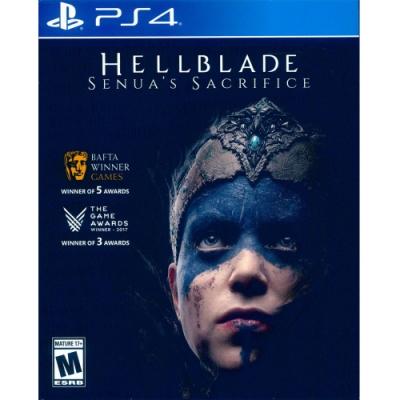 地獄之刃:賽奴雅的獻祭 Hellblade: Senua s Sacrifice - PS4 中英日文美版