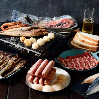 樂天派 海陸頂配烤肉雙PA組(6件組)