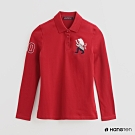 Hang Ten - 女裝 - 造型刺繡POLO衫 - 紅