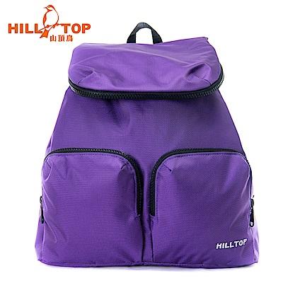 【hilltop山頂鳥】15L多功能背包T28X10紫羅蘭