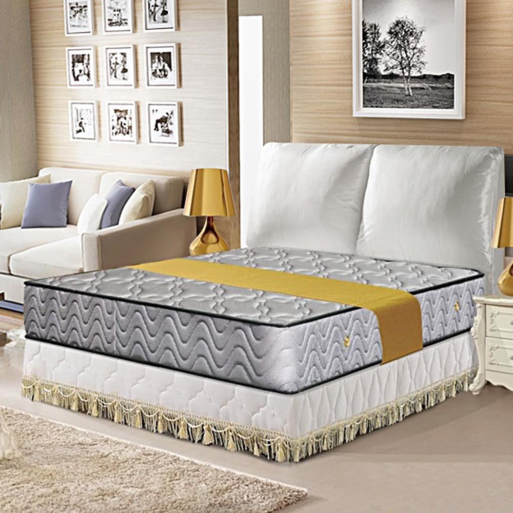 布萊迪 Brady  優眠五段式3D立體透氣網獨立筒床墊-雙人加大6尺