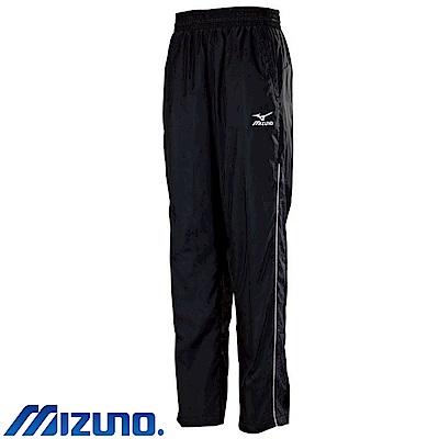 MIZUNO 美津濃 男風衣套裝褲子 黑X單寧 32TF758899