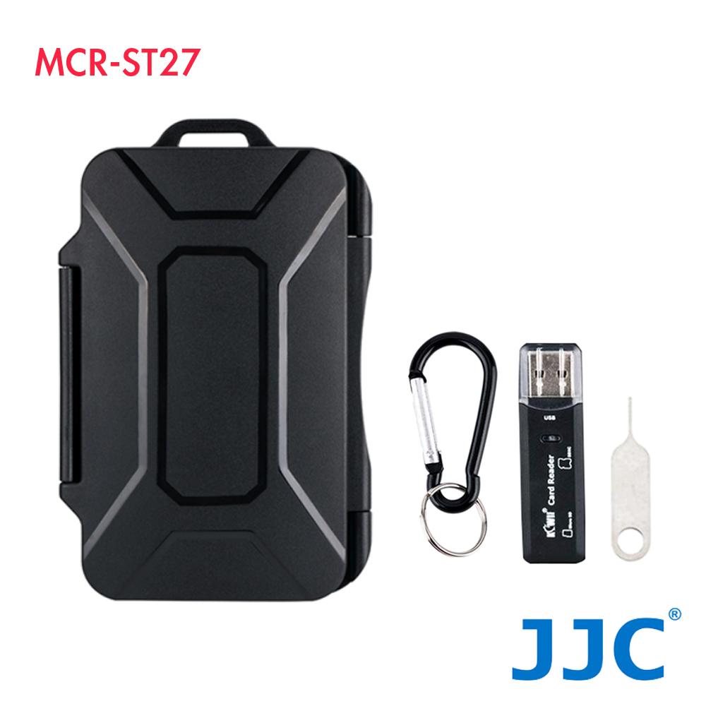 JJC 記憶卡收納盒(防水/抗壓) MCR-ST27