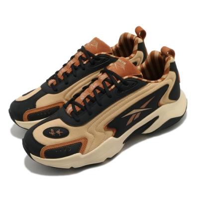 Reebok 休閒鞋 Vector Runner 運動 男女鞋 聯名 功夫熊貓 舒適 簡約 情侶穿搭 棕 黑 H02990