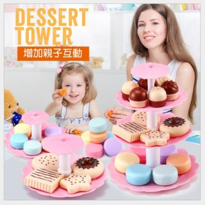 Joy toy 兒童辦家家生日甜點蛋糕組(家家酒)36m+