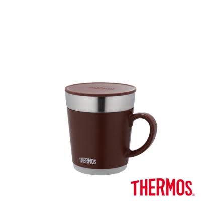 THERMOS膳魔師 不鏽鋼真空保溫杯0.35L(JDC-350-BW)