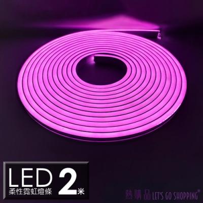 LGS燈條(2米)2V柔性霓虹燈條 LED燈條 防水防曬 (1入)