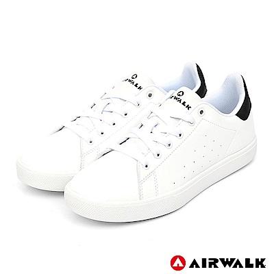 AIRWALK - 經典潮流休閒鞋-男款-白黑