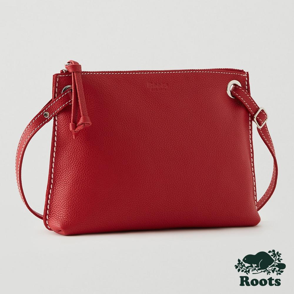 Roots艾迪側背包-紅色