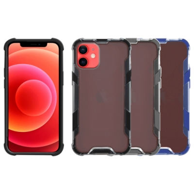Metal-Slim Apple iPhone 12 mini 霧面雙料膚感防摔手機殼